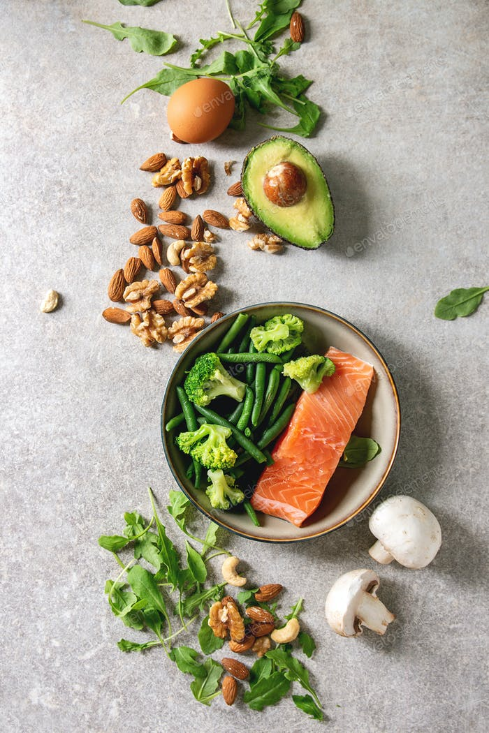 Ketogenic diet ingredients