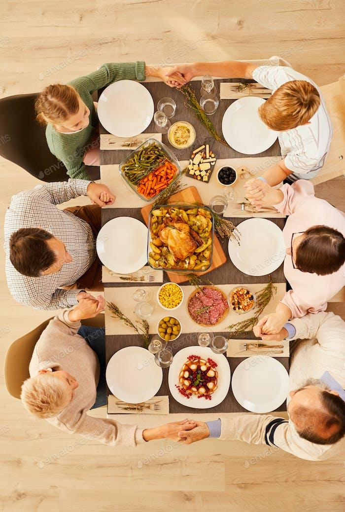 Thanksgiving Day mit Familie