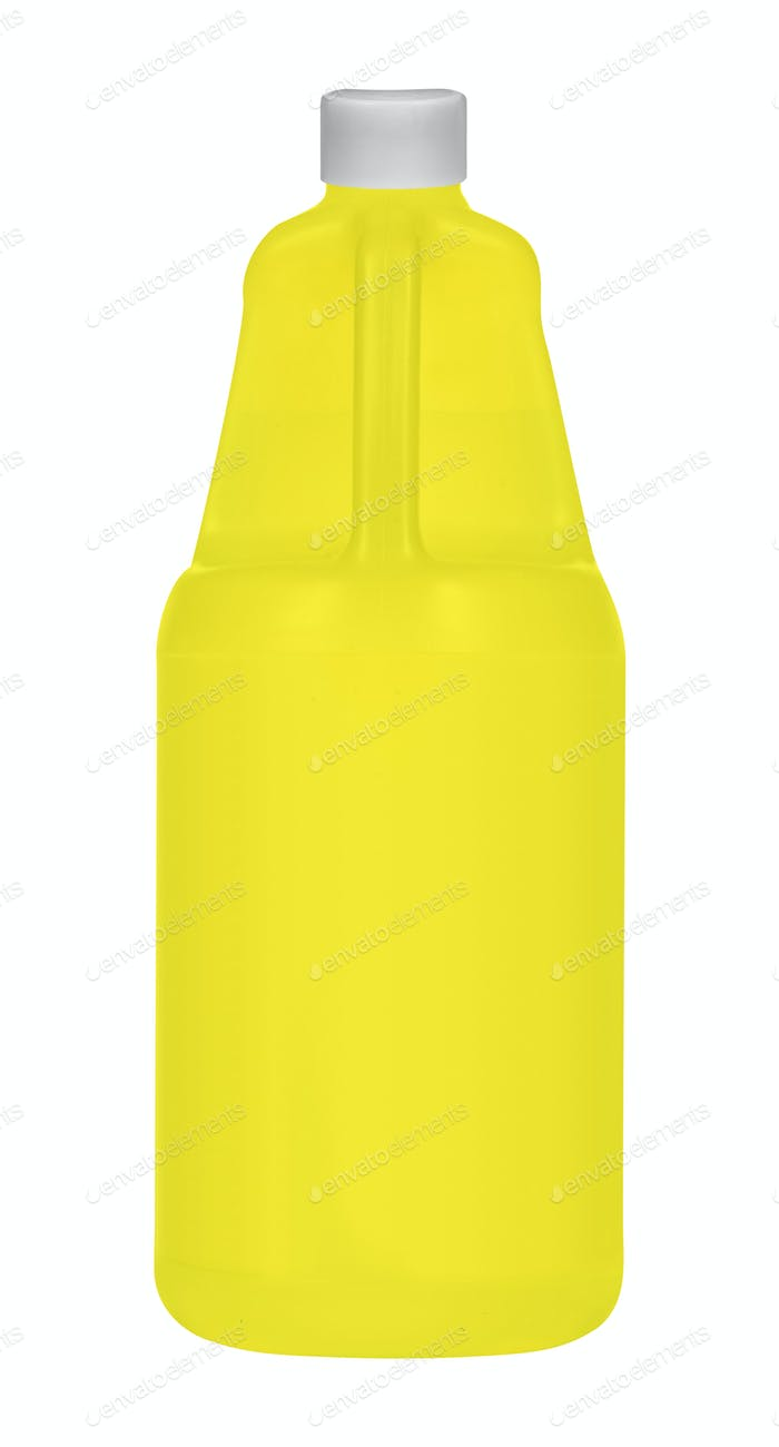 Bottle of Shampoo isolated on white