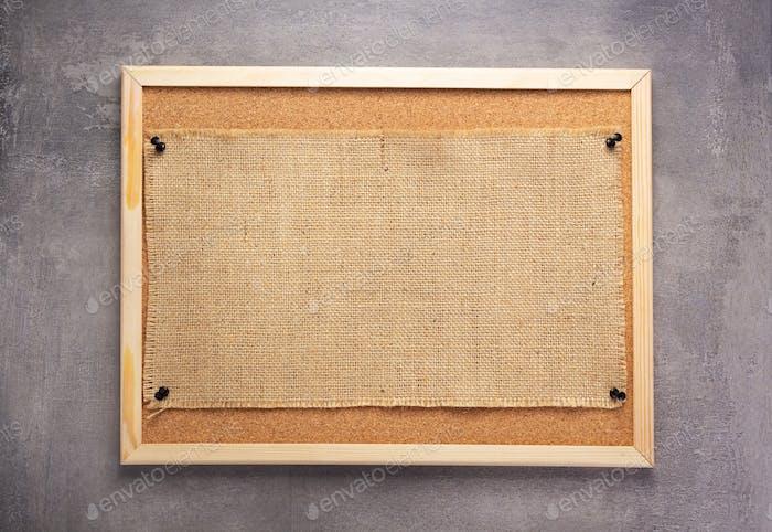 sheet of sack hessian burlap texture
