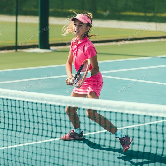 Tennis girl blue 6179 f3