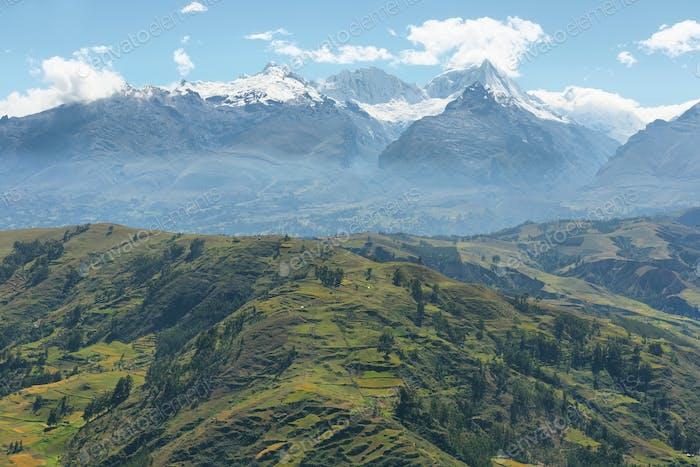 Views of Black mountain range, Peru