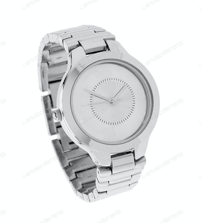 Silver Watch isolated