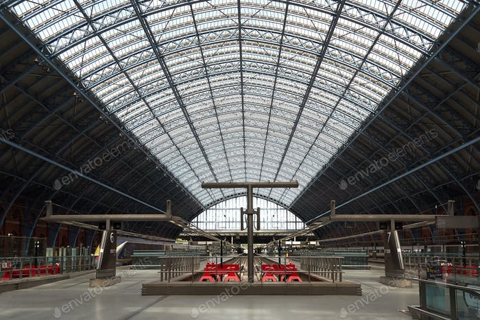 London St Pancras International railway station