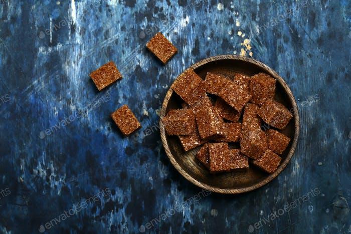 Zuckerrohr brauner Zucker