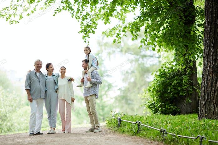 Walk of family