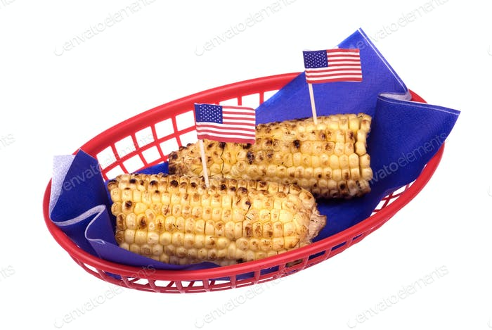 July fourth corn on the cob