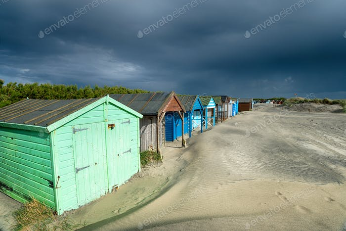 Storm Clouds at West Wittering