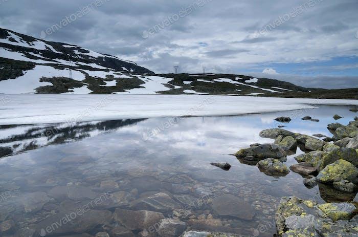 Lake on the Aurlandsfjellet