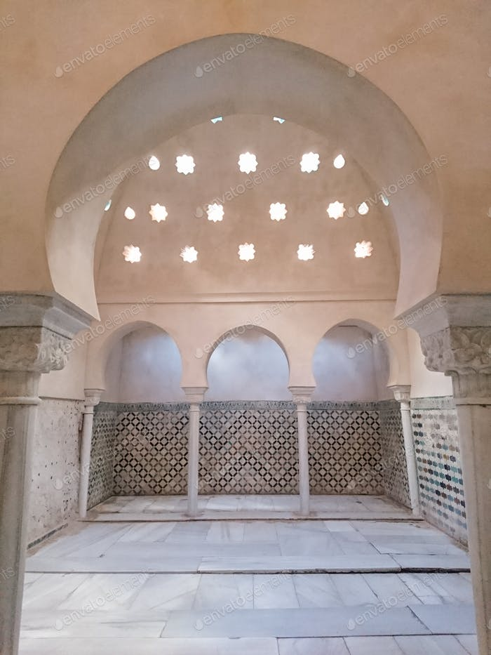 A Hammam (arab bath)