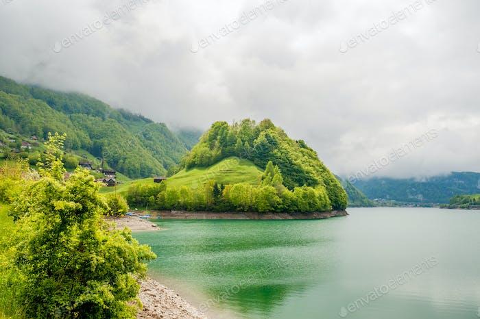 Lungernsee in der Schweiz