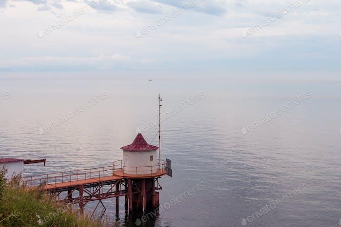 coast of Lake Baikal.