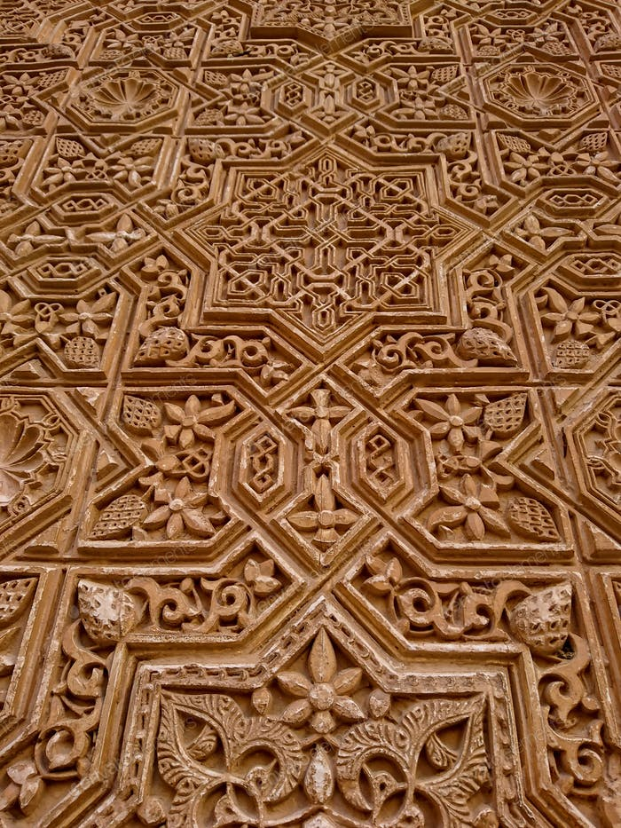 Detail of an arabic wall