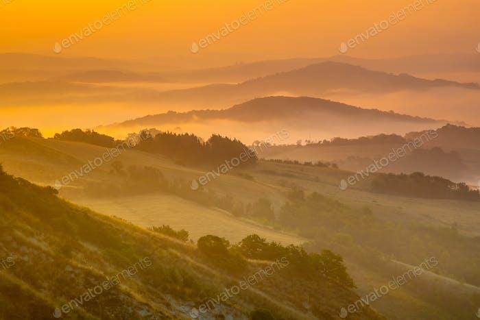 Tuscan Hills Scenery