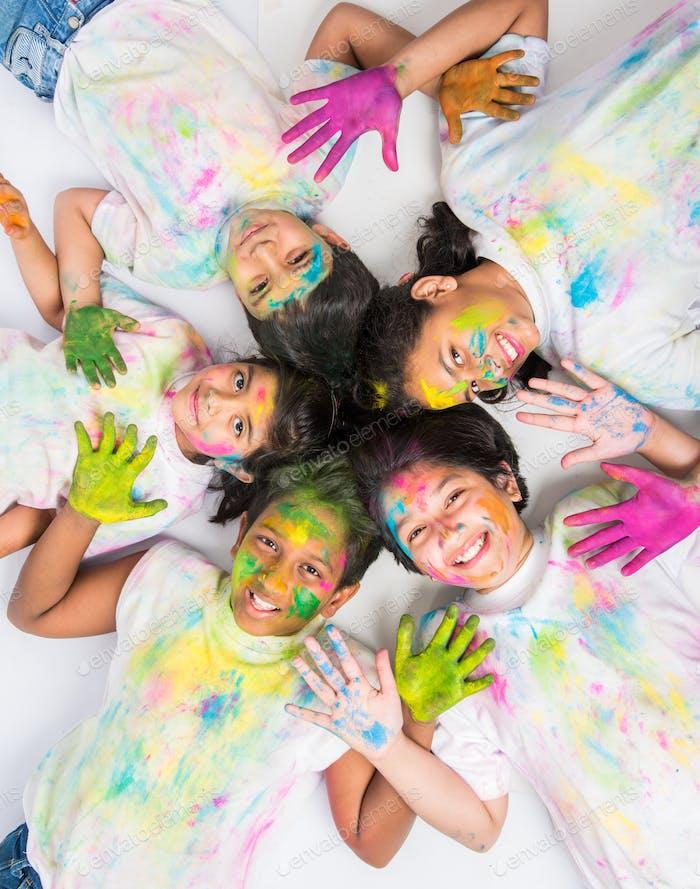 Happy Holi - Indisches Festival der Farben