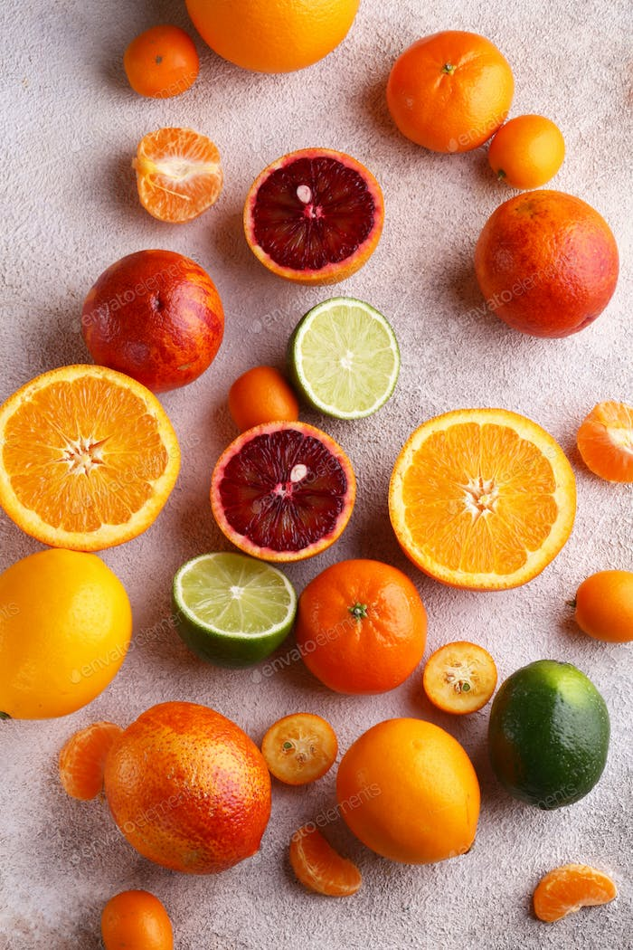 Natural Organic Citrus Fruit