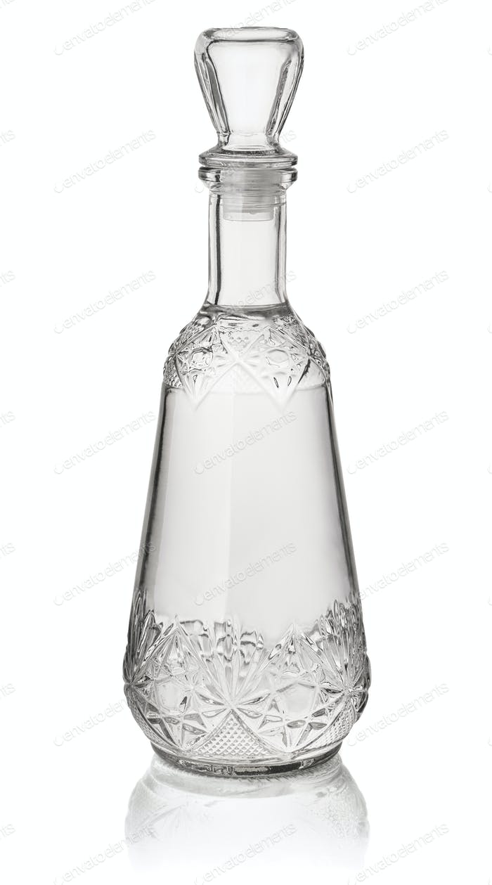 Crystal vodka decanter