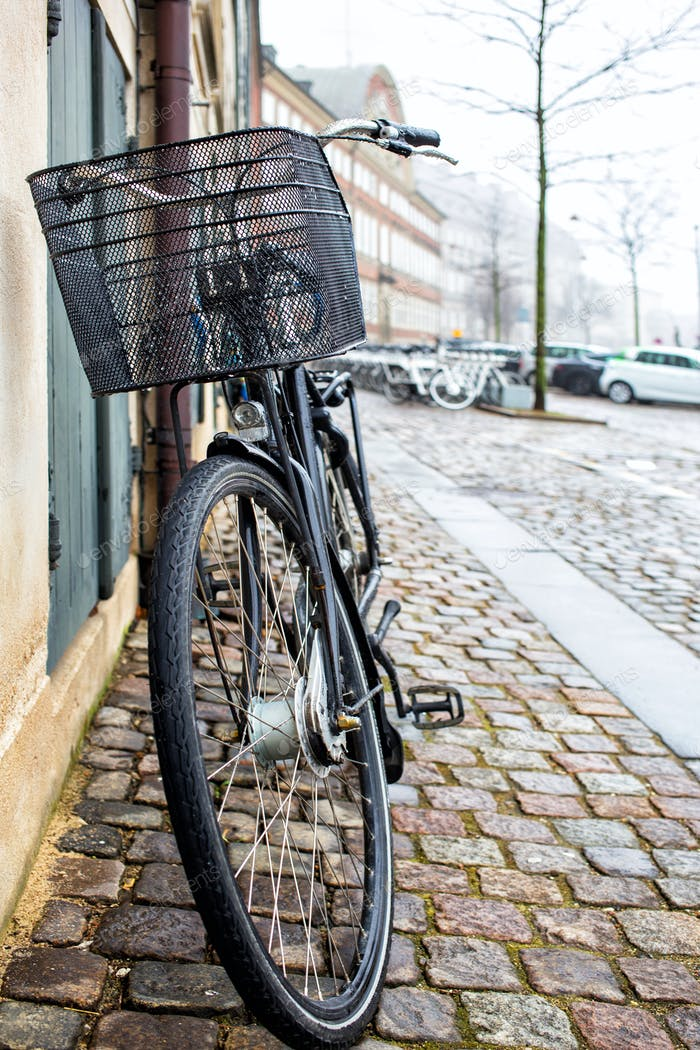 Bicycle on a street