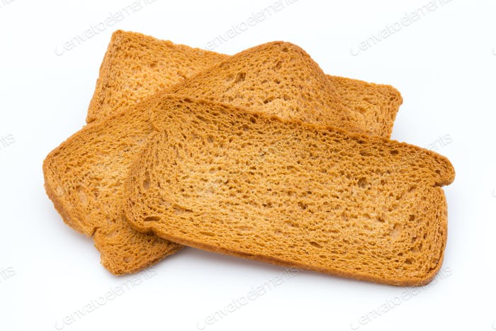 Bread toast.