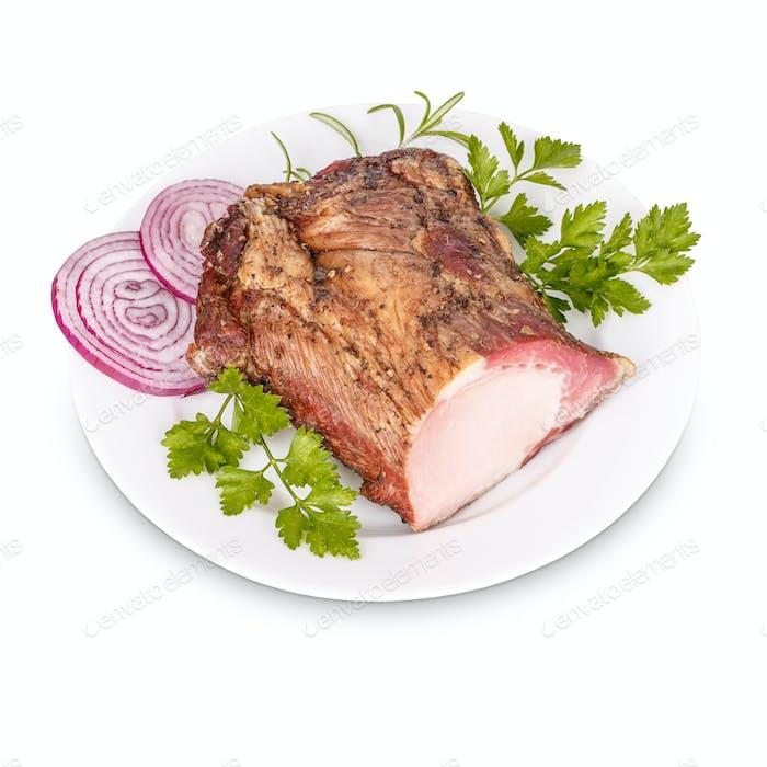 Pork loin meat