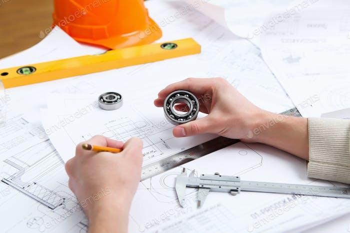 Bauprojektpapiere