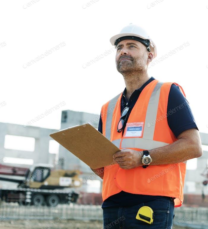 Architektur Bau Sicherheit Erstes Karrierekonzept