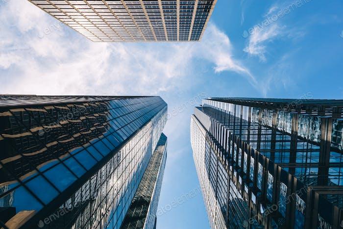Edificios de altura en Filadelfia, Estados Unidos
