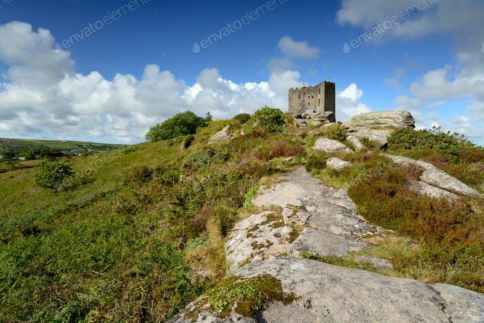 Carn Brea Castle in Cornwall