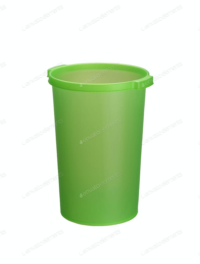 Bucket isolated on white background
