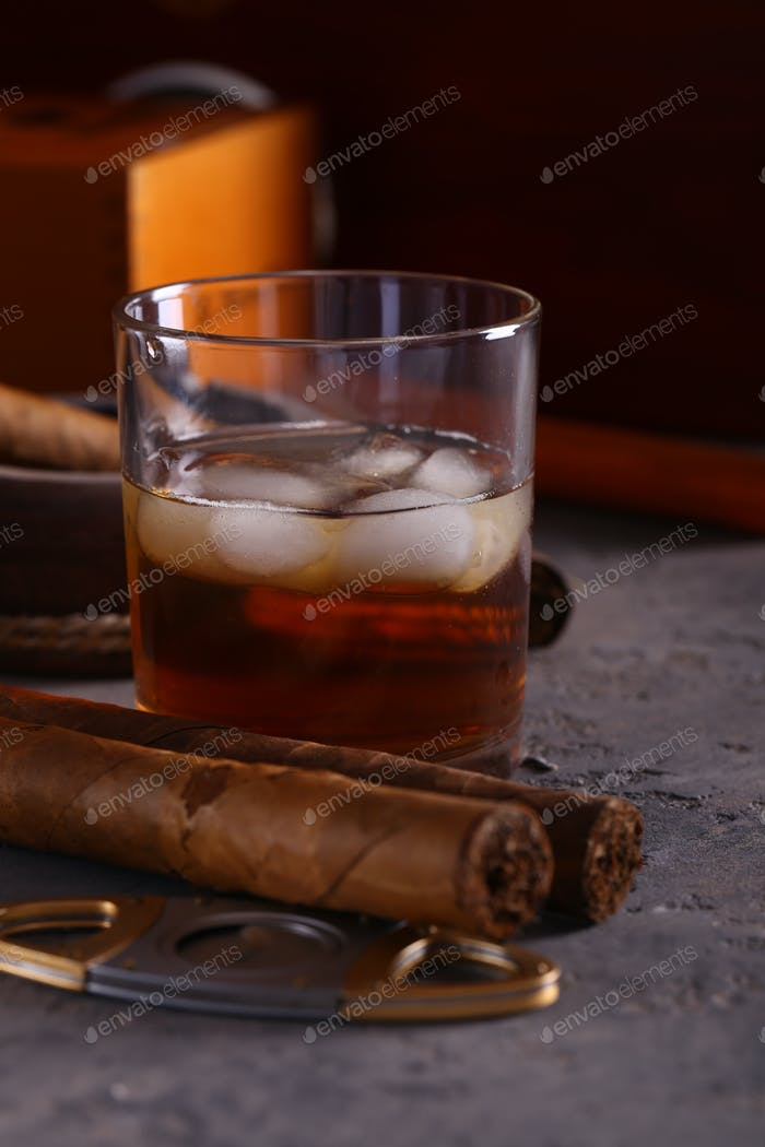 Cigars and Alcohol