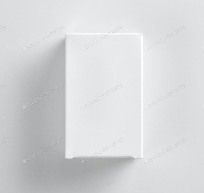 weiße Papierschachtel
