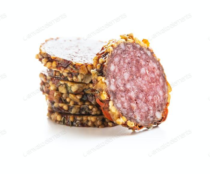 Würzige Salami-Wurst