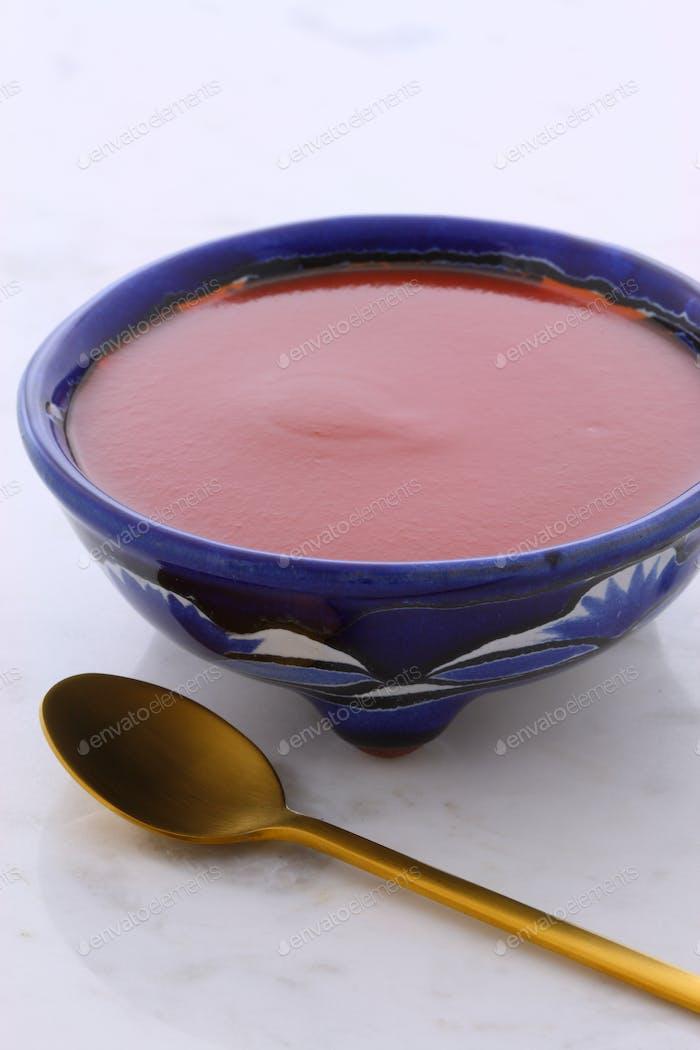 Artisan red hot chili sauce