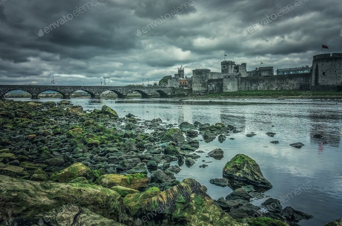 King Johns Castle in Limerick