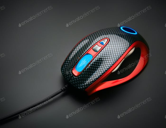 Stylish optical mouse