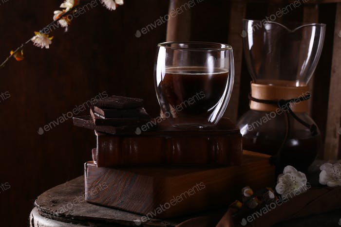 Still Life Coffee and Chocolate