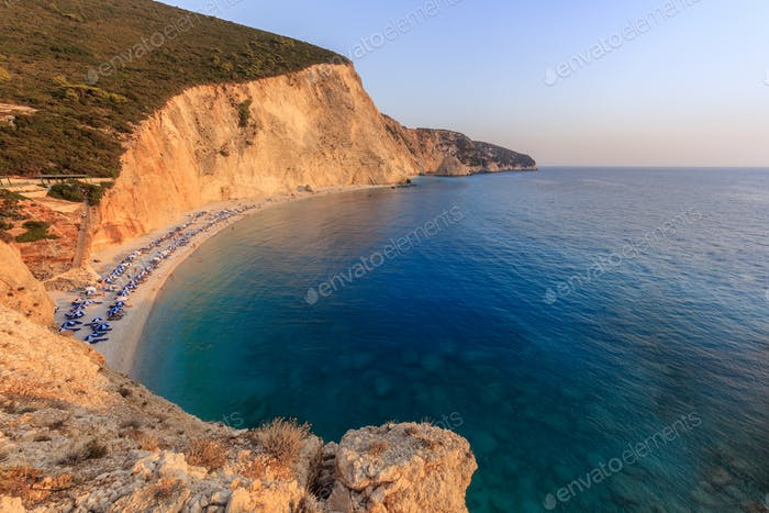 Porto Katsiki beach. Lefkada, Greece