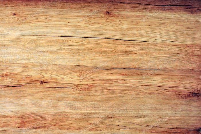 Textura de Panel De madera rústica, vista superior de la mesa