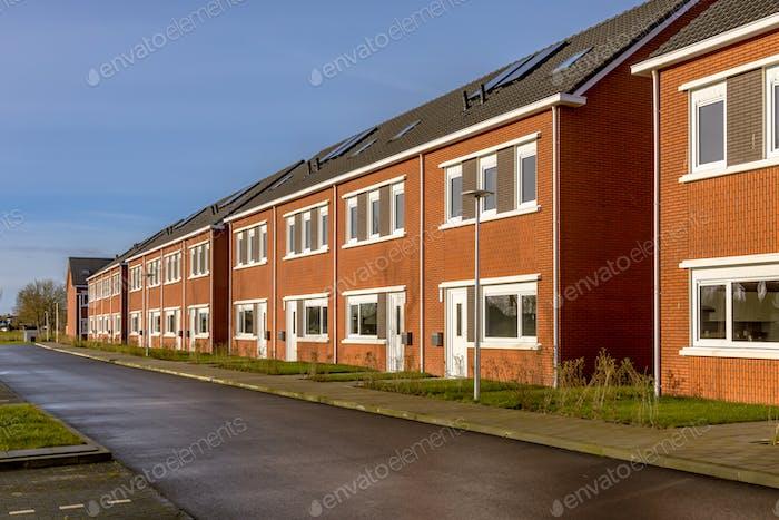 Brand new development of basic public housing