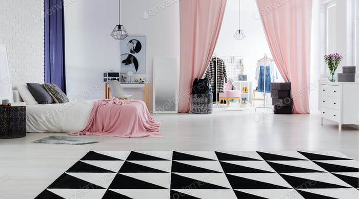 Perfect flat for fashion designer