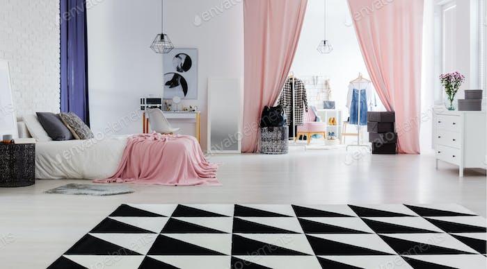 Perfekte Wohnung für Modedesigner