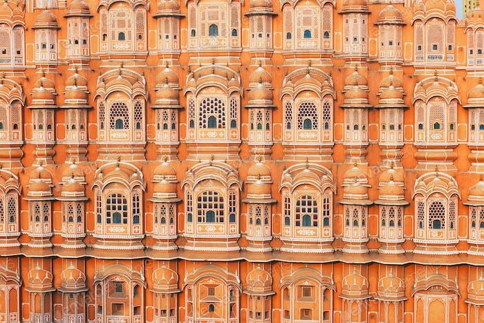 Hawa Mahal Palast der Winde, Jaipur, Rajasthan