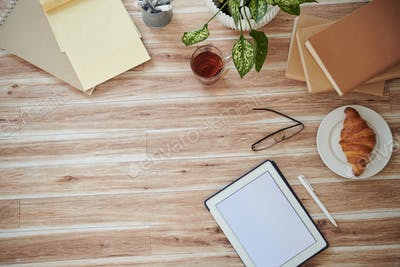 Workspace, View from above