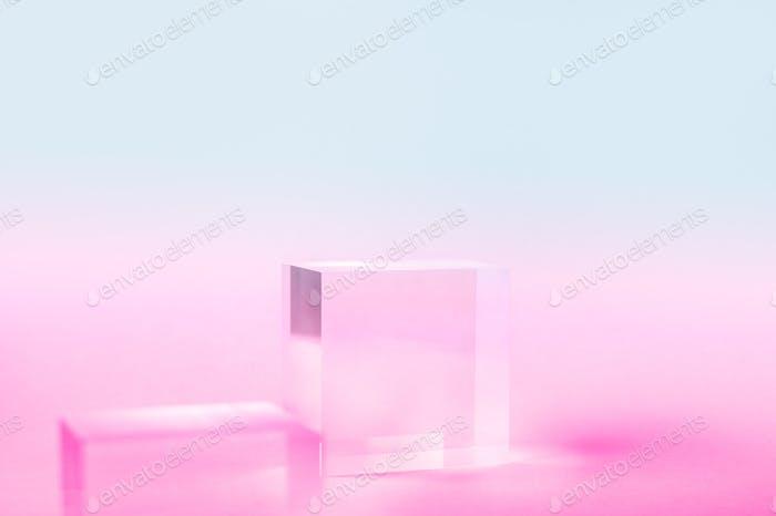 Acrylic Solid Display Block