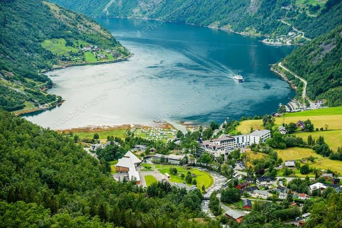 Geiranger Panorama Norway