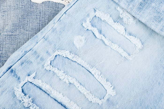 Jean background. Denim blue jean texture. Concept for fashion.
