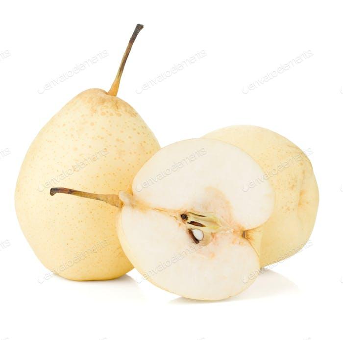 White pears