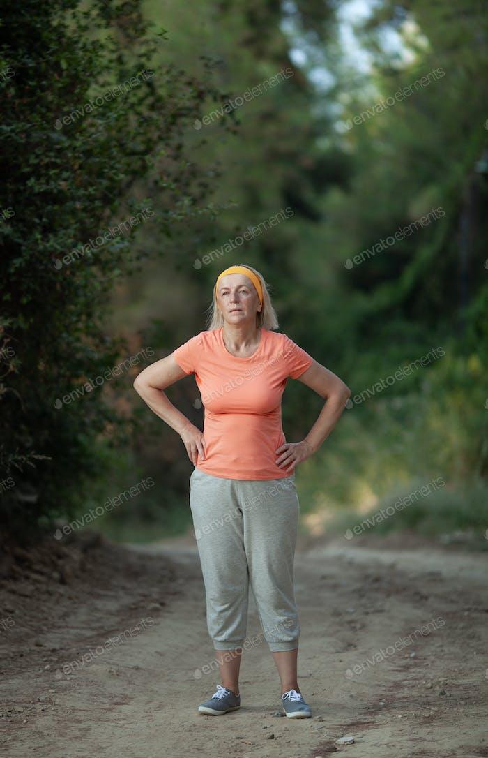 After a jog