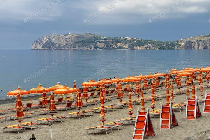 The coast at Palinuro, Southern Italy
