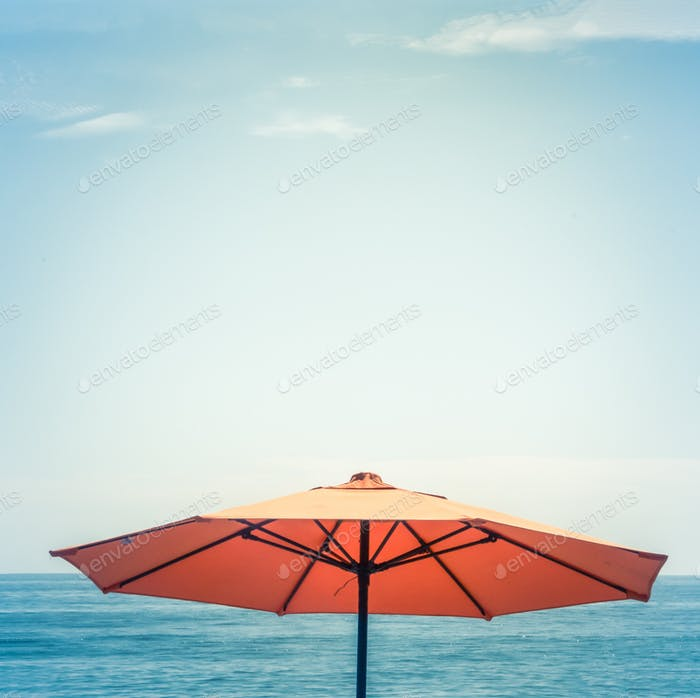 Minimalist Beach Umbrella